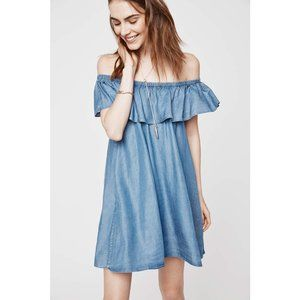 Rebecca Minkoff Dev Off-the-Shoulder Mini Dress